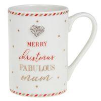 Mad Dots Christmas Mum Mug