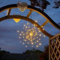 Starburst Solar Powered LED Pendant Light