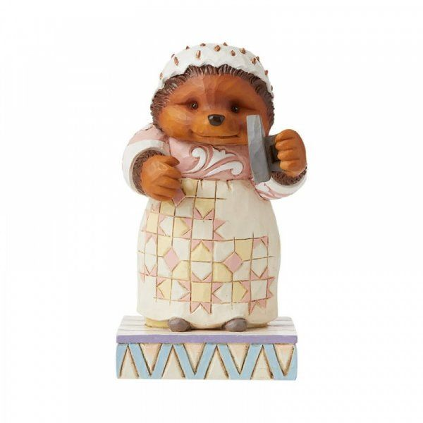 Jim Shore Beatrix Potter Lily-white and Clean, Oh (Mrs. Tiggy-Winkle) . Peter Rabbit Figurine