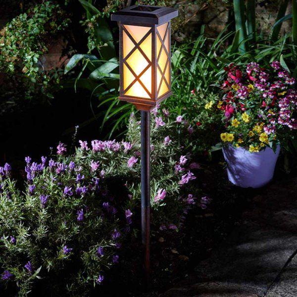 Arezzo Solar Flaming Torch