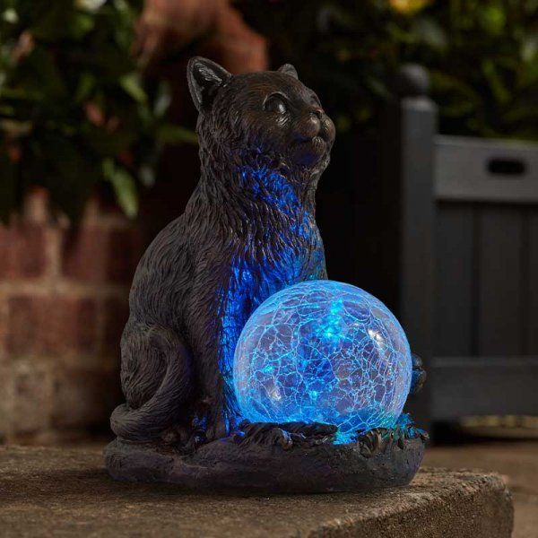 Mystic Mog Cat Solar Light