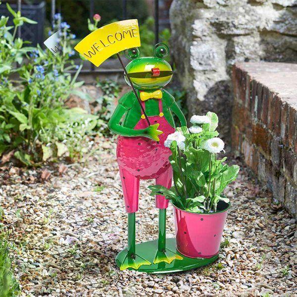 Welcome Frog Pot-Pet Planter