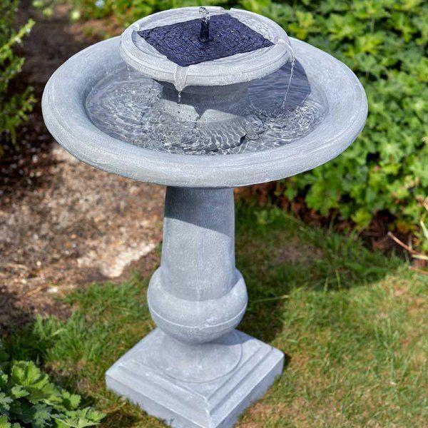 Solar Powered Chatsworth Fountain