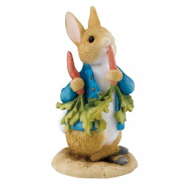 "Beatrix Potter Peter Rabbit ""Peter Ate Some Radishes"" Figurine"