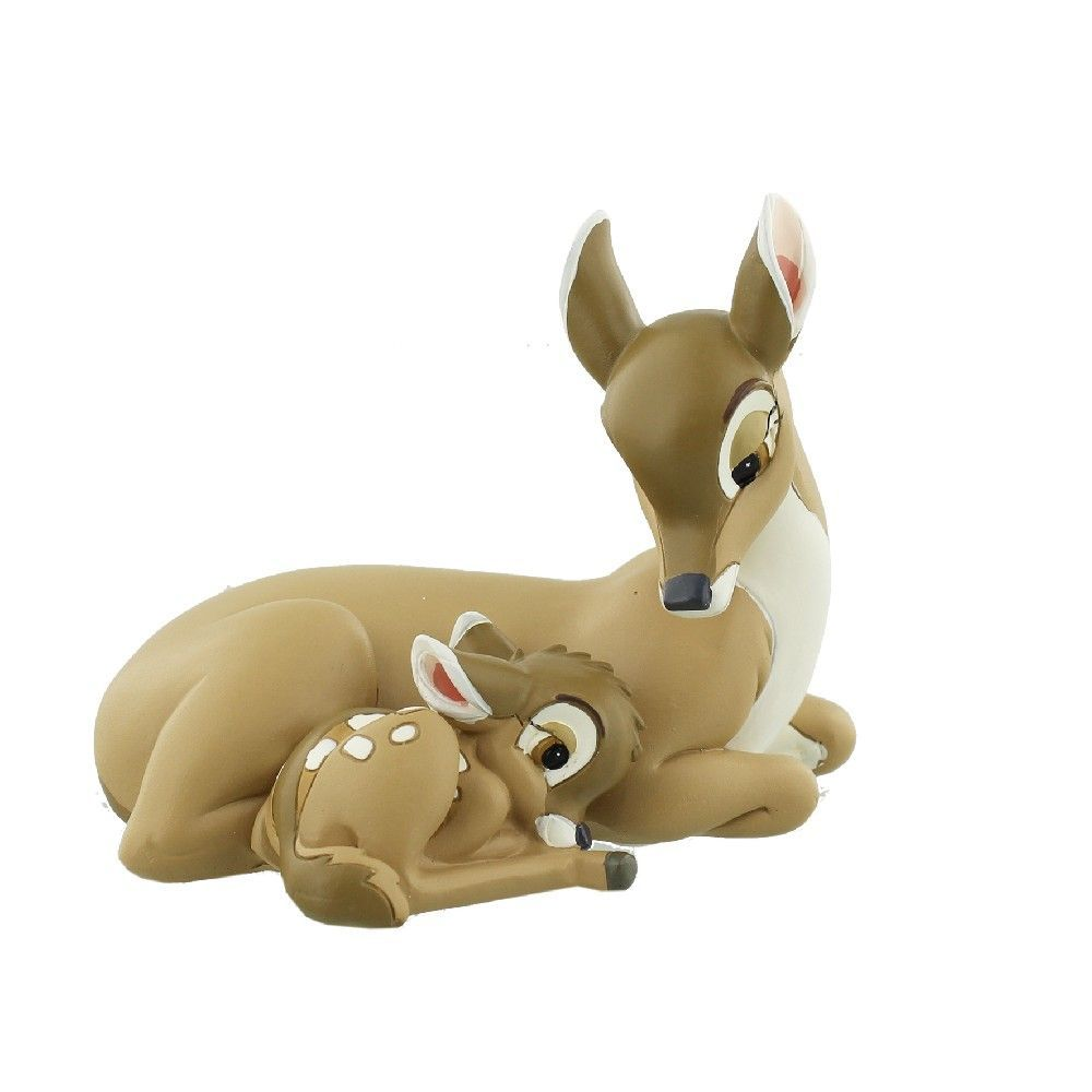 Disney Magical Moments Bambi & Mother Figurine Brand New & Boxed