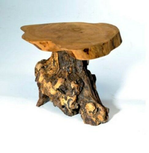 Coffee Root Wooden Stand Table 20cm