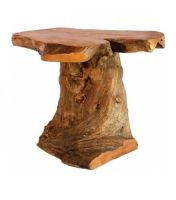 Coffee Root Wooden Stand Table 15cm