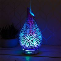 Ultrasonic Colour Changing Hearts Humidifier Diffuser Lamp  Air Mist Purifier