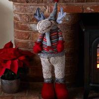 Myrna Deer! Plush Christmas Decor