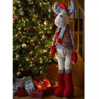 Goldie Deer! Plush Christmas Decor