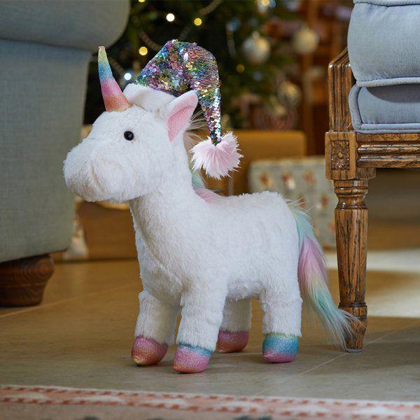 UniGonk Large Plush Christmas Decor Unicorn Gonk