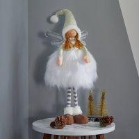 65cm Ophelia Standing Winter Fairy Princess Large White Christmas Decor