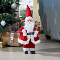 Santa Magic! Standing Red Father Christmas