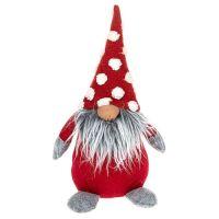 Large Jolly Spotty Fat Gonk  Plush Christmas Decor