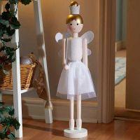 50cm Fairycracker Pink/White Christmas Decor