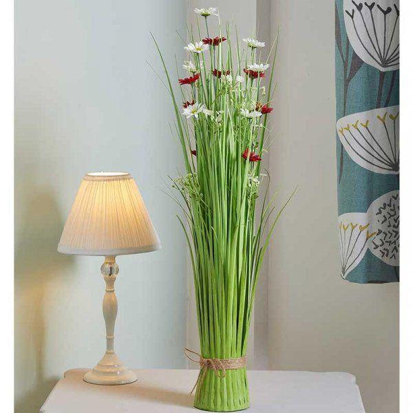 70cm Sweet Surprise Flower Grass Faux Bouquet