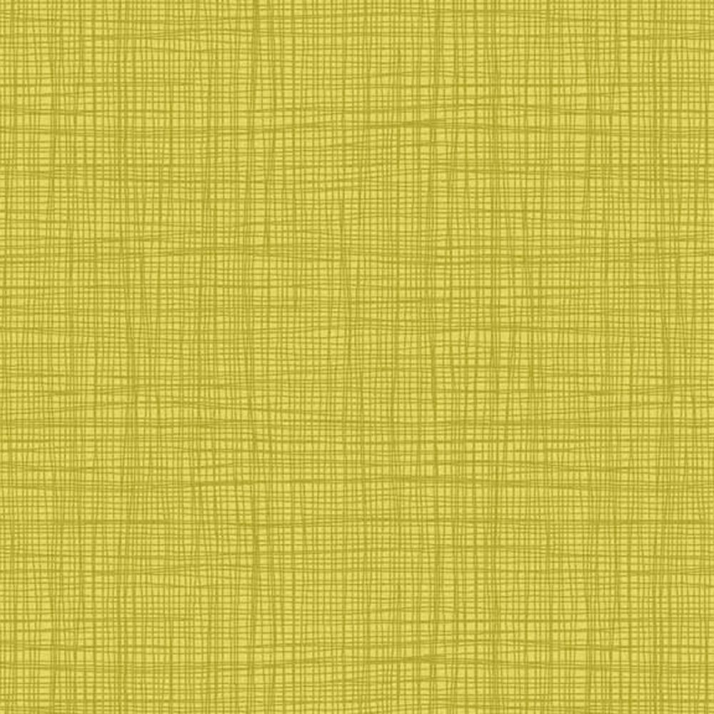 Linea Tonal Yellow Textures Cotton Fabric by Makower FQ