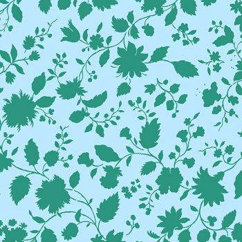 Twilight Vines in Sky Cotton Fabric by Amy Butler Violette