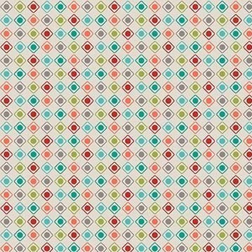 Offshore Dots Multi Blender Coordinate Cotton Fabric
