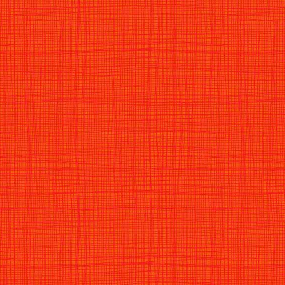 Linea Tonal Orange Textures Cotton Fabric by Makower