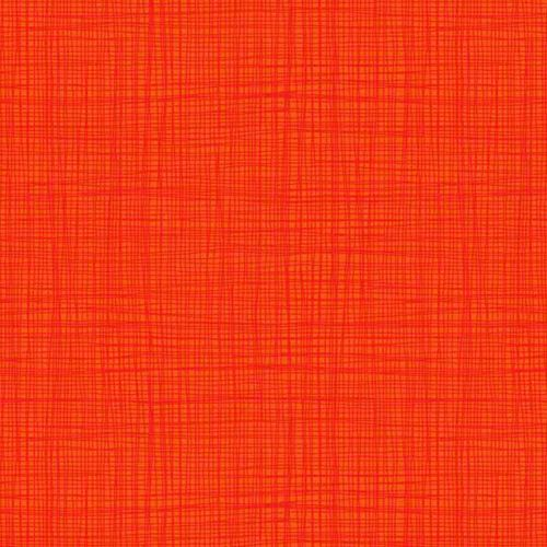 Linea Tonal Orange Textures Cotton Fabric by Makower