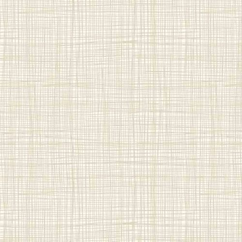 Linea Tonal Cream Pale Grey Textures Cotton Fabric by Makower