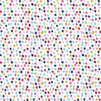 Flurry Multi Spot Spotty Polkadot Dotty Cotton Fabric