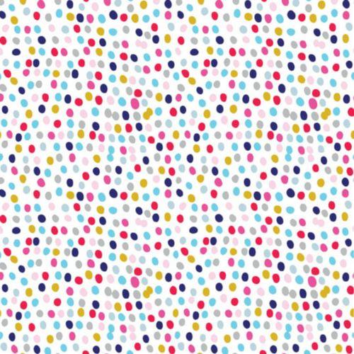 Flurry Multi Spot Spotty Polkadot Dotty Cotton Fabric