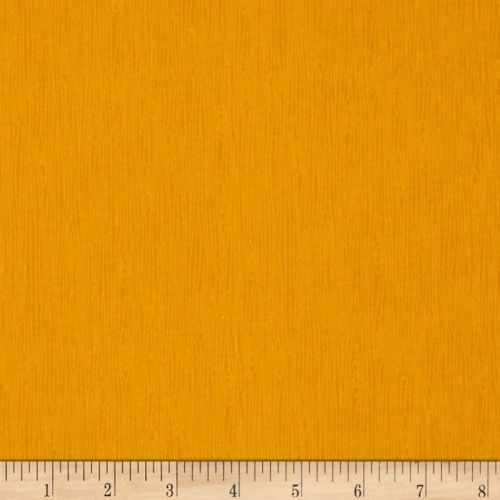 In The Wood Gold Yellow Wooden Wood Grain Texture Cotton Fabric