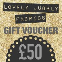£50 Gift Voucher for Lovely Jubbly Fabrics sent by email