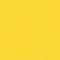 Spot On Sunshine Yellow White Polkadot on Yellow Spotty Dotty Cotton Fabric