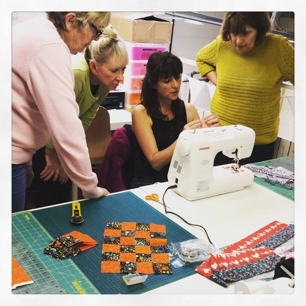 Beginner's Patchwork Crash Course - 2.5 hours Sewing Class