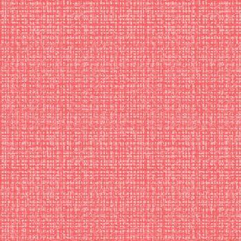 Color Weave Medium Rouge Coral Pink Textures Coordinate Blender Cotton Fabric