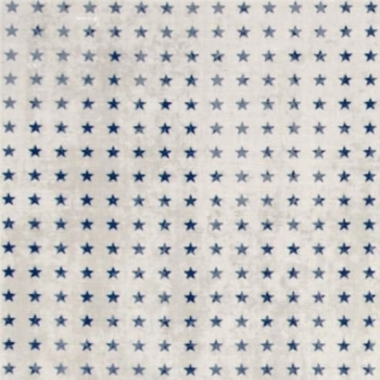 Tiny Stars Blue Denim Star Eclectic Elements Correspondence Cotton Fabric