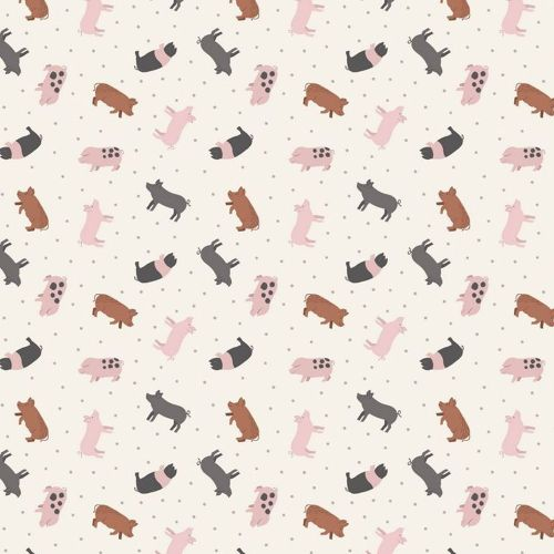 Tiny Pig Piglet Breeds Farmyard Small Things On The Farm Pigs Animal Cotton