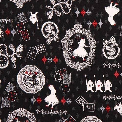 Kokka Alice in Wonderland Playing Cards White Rabbit Lewis Carroll Characte