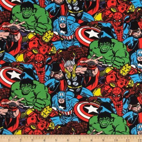 REMNANT Avengers Marvel Superhero Packed Character Thor Hulk Captain Americ