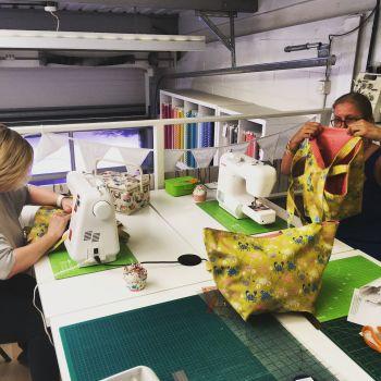 Beginner's Bucket Beach Bag Sewing Class