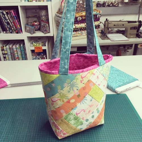 Flip & Stitch Quilted Patchwork Bag Workshop