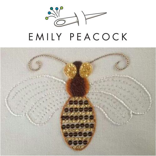 Bee Embroidery Workshop with Emily Peacock