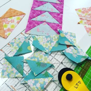 Little Bundle of Skills - Patchwork Triangles - Intermediate
