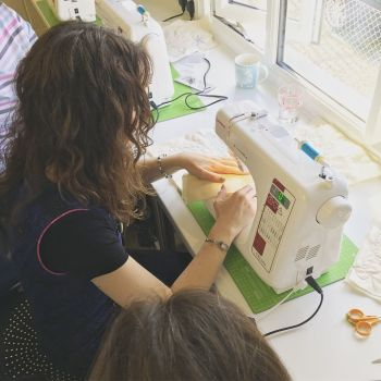 Improvers Free Motion Quilting Sewing Class - Quilted Mat - 2.5 hours Sewing Class