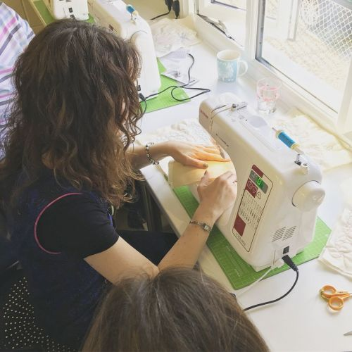 Improvers Free Motion Quilting Sewing Class - Quilted Mat - 2.5 hours Sewin