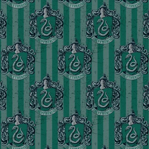 Harry Potter Hogwarts Slytherin House Crest Lion Magical Wizard Witch Digit