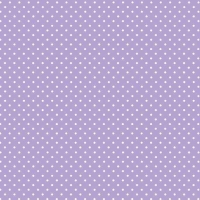Spot On Lilac White Polkadot on Pale Purple Lavender Cotton Fabric by Makower