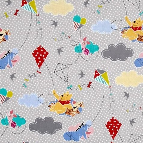 REMNANT Disney Winnie the Pooh and Friends Pooh Everyday Kites with Dots Gr