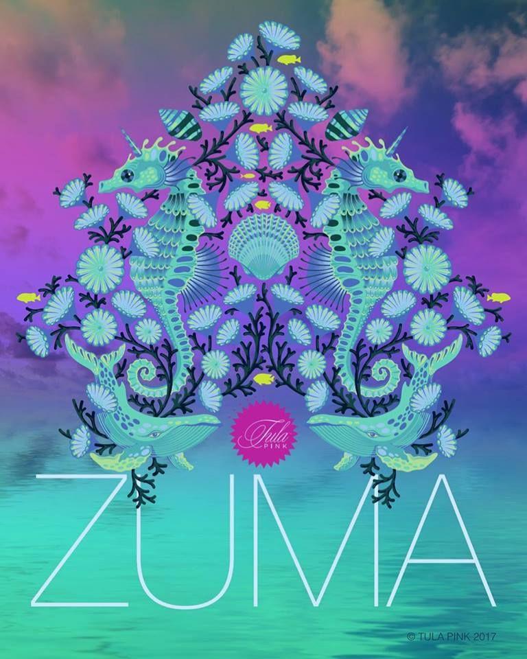 Zuma Fabric Collection by Tula Pink