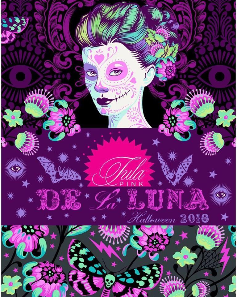 De La Luna Fabric Collection by Tula Pink