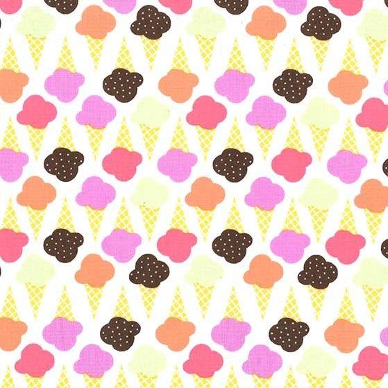 Game of Cones Sherbet Pink Ice Cream You Scream Cone Icecream Scoop Cotton