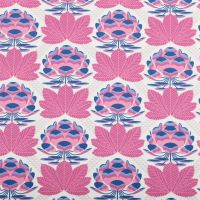 Avalon Sugar Bloom Berry Lotus Blossom Flower Geometric Floral Cotton Fabric